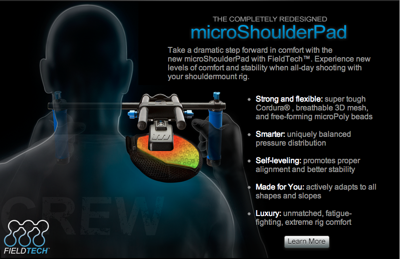 Redrock Micro Shoulder Pad Annoucement